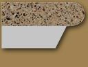 Granite Edge 3/4 bullnose